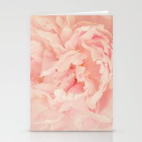 blush Stationery Cards featuring BLUSH by Jenny Ardell