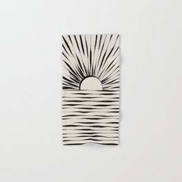 Minimal Sunrise / Sunset Hand & Bath Towel