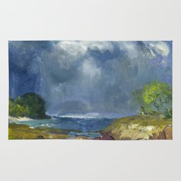 George Bellows - The Coming Storm, 1916 Rug