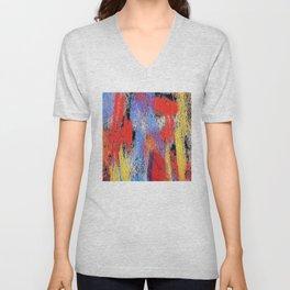 Multicolor pp Unisex V-Neck