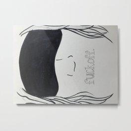 Beauty Sleep Metal Print