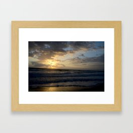 Florida Sunrise Framed Art Print