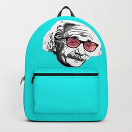 Einstein in summer Backpack