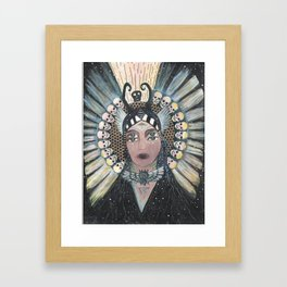 underworld journey/ transformation Framed Art Print