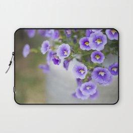 Violets in a Milk Churn Laptop Sleeve