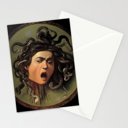 "Michelangelo Merisi da Caravaggio ""Medusa"" Stationery Cards"