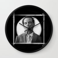 moriarty Wall Clocks featuring Moriarty by aizercul