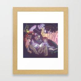 voyage voyage Framed Art Print