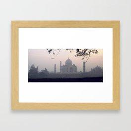 Taj Mahal. Framed Art Print