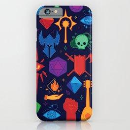 TTRPG Forever - Color iPhone Case