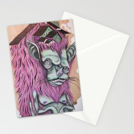 """""""Monster Home"""" Stationery Cards"""
