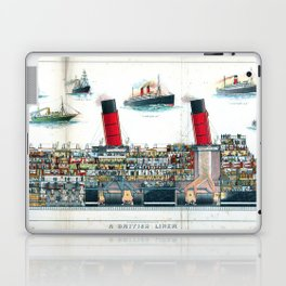 A British Liner Laptop & iPad Skin