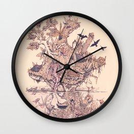 Fig Tree Island Wall Clock
