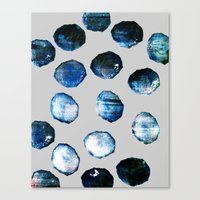 mineral Canvas Prints featuring mineral 03 by LEEMO