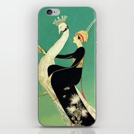 Vintage Magazine Cover - Peacock iPhone Skin