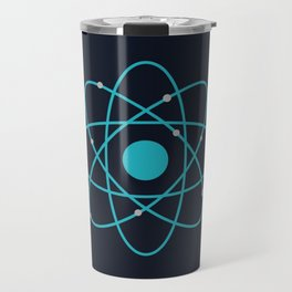 Atom, Molecules, DNA, Science decor, science class Travel Mug