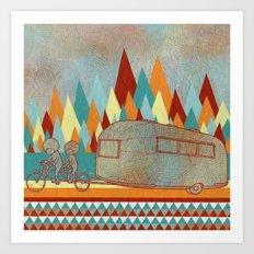 Airstreaming Art Print