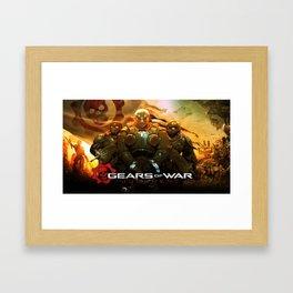 Gears Of War 15 Framed Art Print