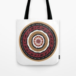 African Tribal Pattern No. 20 Tote Bag