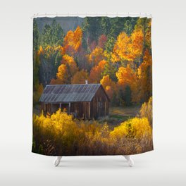 Hope Valley Fall Colors Festival, Sierra Nevada Shower Curtain