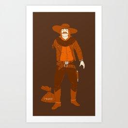 One Armed Bandit Art Print
