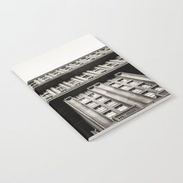 Facade of a monumental residential building I Notebook