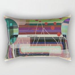Casette Music 1981 Rectangular Pillow