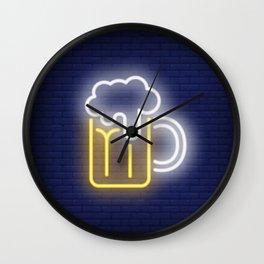Cerveza Wall Clock
