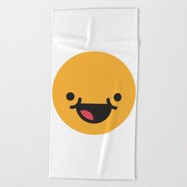Emojis: Happy Beach Towel