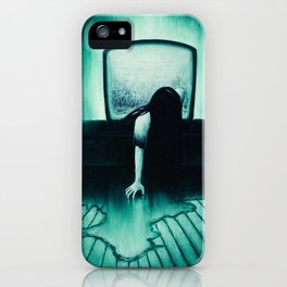 She Never Sleeps iPhone Case