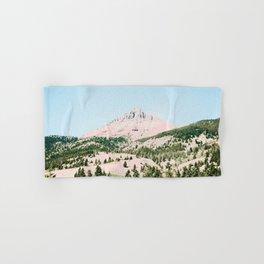 Happy Mountain #society6 #decor #buyart Hand & Bath Towel