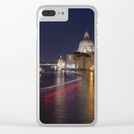 Grand Canal of Venice at Night Clear iPhone Case