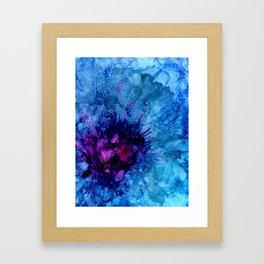 Amethyst Freeze Framed Art Print