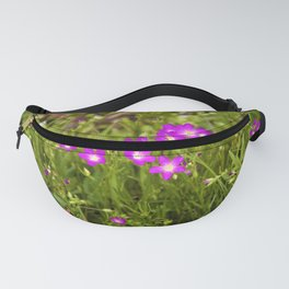 Tiny Wildflowers of Spring by Reay of Light Photography Fanny Pack