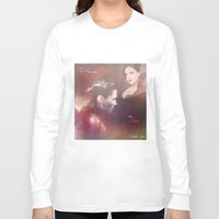 evil queen Long Sleeve T-shirts featuring The Evil Queen by Daniela Vasco