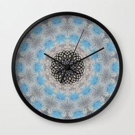 SNOWFLAKES - II Wall Clock