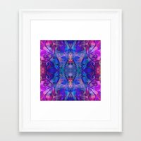 fairy tale Framed Art Prints featuring fairy tale by Assiyam