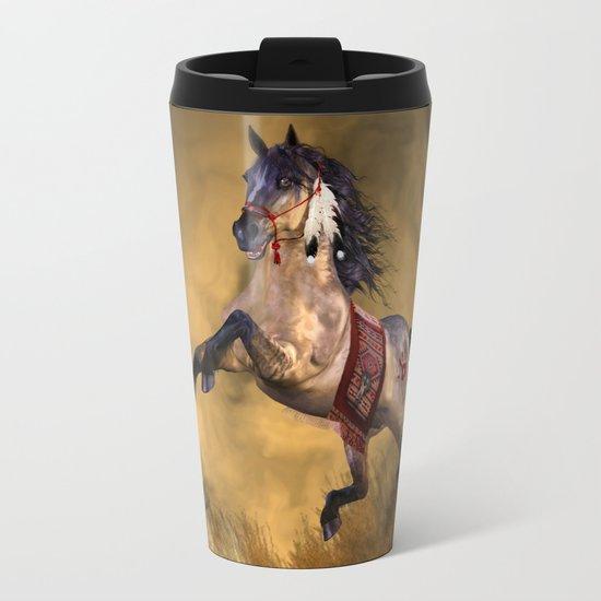 HORSE - Dreamweaver Metal Travel Mug