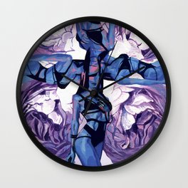 When the muse appears to you Wall Clock