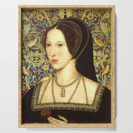 Queen Anne Boleyn Serving Tray