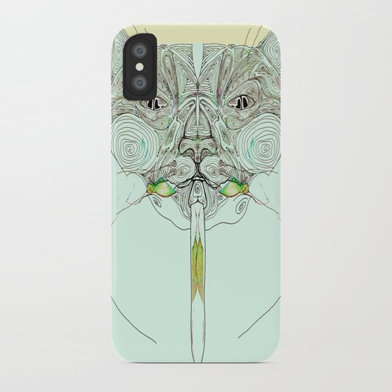 UzumakiKat I v2 iPhone Case
