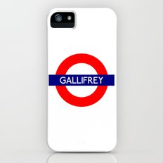 Gallifrey iPhone (5, 5s) Slim Case