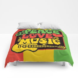 Rasta Peace Love Music Comforters