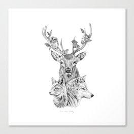 Kin Canvas Print