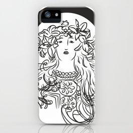Mucha's Inspiration iPhone Case