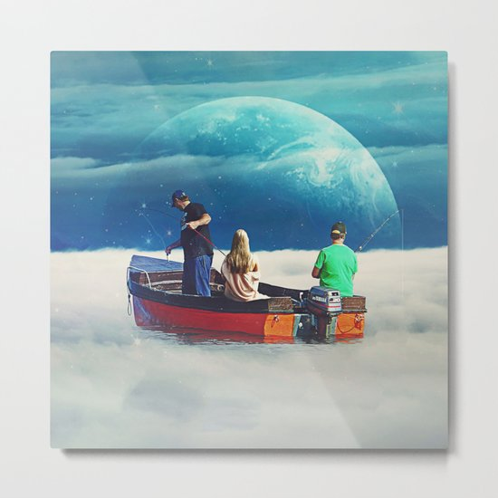 In The Same Boat Metal Print