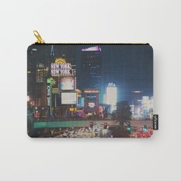 night time on the Las Vegas strip ... Carry-All Pouch