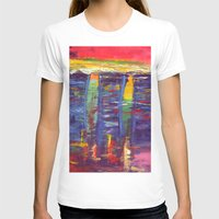 singapore T-shirts featuring Bayfront Singapore by Kasia Pawlak