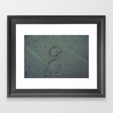 Nautica: Hoof Prints Framed Art Print