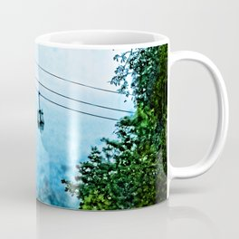 Travelling the mist Coffee Mug